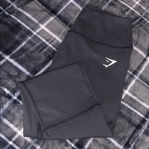 Gymshark Dreamy collection black crops
